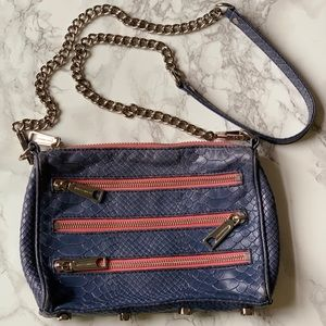 Rebecca Minkoff mini M.A.C. shoulder bag.